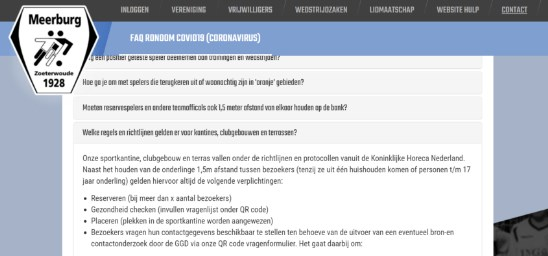 Krijg je vaak dezelfde vragen gesteld? Maak een item op je website 'veel gestelde vragen' van vragen die vaak voorkomen.