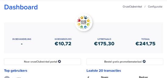 Laat je leden al hun webwinkel bestellingen (zoals Coolblue) via je clubwebsite lopen. Een win-win-win. Geld voor het lid, geld voor de club en extra bezoekers op de clubwebsite.