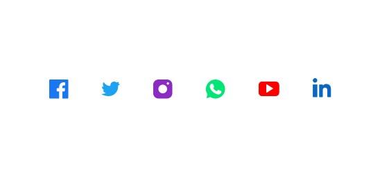 Hiermee heb je een koppelingen met Twitter, Facebook, Linkedin, Youtube, Instagram en Whatsapp. Berichten kunnen automatisch geplaatst worden op elk kanaal.